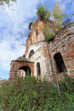 Abandoned Orthodox Church in the European part of Russia. Stock Photography