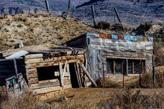 Abandoned Outbuildings Royalty Free Stock Images