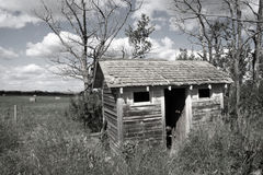 Abandoned Outhouse Stock Photos