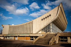 Abandoned Palace of Concerts and Sports Stock Image