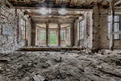 Abandoned palace Royalty Free Stock Images