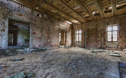 Abandoned palace Stock Photo