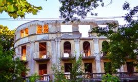 Abandoned palace Stock Images