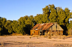Abandoned Palo Verde House Stock Photo