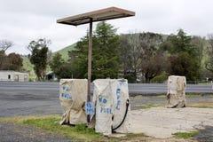 Abandoned Petrol Station Stock Photos