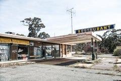 Abandoned Petrol Station Royalty Free Stock Photography
