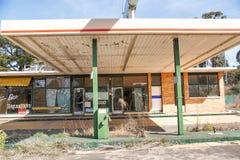 Abandoned Petrol Station Stock Image