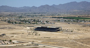 Abandoned Phoenix Trotting Park Royalty Free Stock Photos