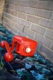 Abandoned phone Royalty Free Stock Image