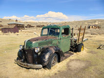 Abandoned Pickup of the ghost town Bodie.  Royalty Free Stock Image