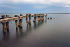 Abandoned pier Royalty Free Stock Photos