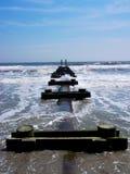 Abandoned pier Royalty Free Stock Photo