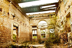Abandoned place. Royalty Free Stock Images