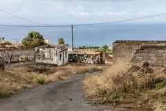 Abandoned place on Tenerife Stock Photography