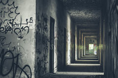 Abandoned Places - Arrows. Abandoned Places, forgotten in time royalty free stock image