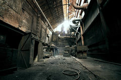 Abandoned places. Photo of old abandoned place Royalty Free Stock Photos