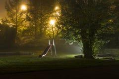 Abandoned_playground-2 Στοκ φωτογραφίες με δικαίωμα ελεύθερης χρήσης
