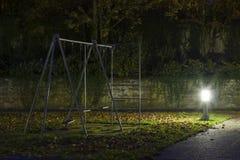 Abandoned_playground-1 Image libre de droits
