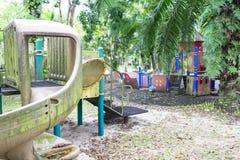 Abandoned Playground Royalty Free Stock Photography