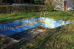 Abandoned pool Stock Photos