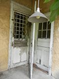 Abandoned Porch Royalty Free Stock Photography