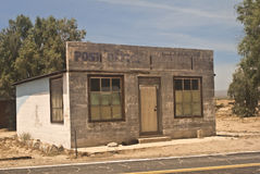 Abandoned Post Office. This is a picture of an abandoned Post Office from Kelso, California, a ghost town within the Mojave National Preserve royalty free stock image