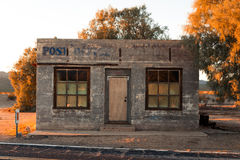 Abandoned post office building. In California Royalty Free Stock Photo
