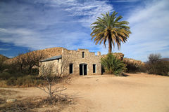 Abandoned Post Office. In the Hot Springs Section of Big Bend National Park, Texas Royalty Free Stock Photo