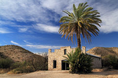 Abandoned Post Office. In the Hot Springs Section of Big Bend National Park, Texas Stock Image