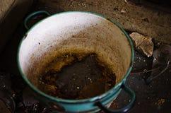Abandoned pot Stock Photo
