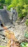 Abandoned power dam Stock Photography