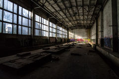 Abandoned power plant inventory. Stock Photos
