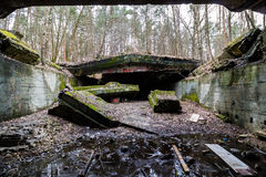 Abandoned power station. Royalty Free Stock Photos