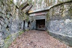 Abandoned power station. Inside the abandoned power station Royalty Free Stock Image
