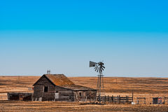 Abandoned Prairie Homestead Royalty Free Stock Photo