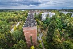Abandoned Pripyat city Stock Photography