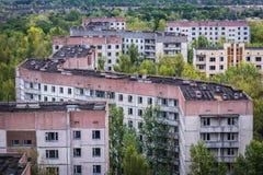 Abandoned Pripyat city Stock Images