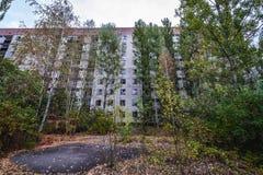 Abandoned Pripyat city Royalty Free Stock Image