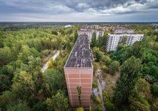 Abandoned Pripyat city Stock Photos