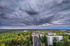 Abandoned Pripyat city Royalty Free Stock Photography