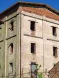 Abandoned prison. Dilarpidated building of abandoned prison Royalty Free Stock Images
