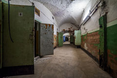 Abandoned prison, Patarei in Tallinn, Estonia Royalty Free Stock Images