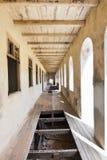 Abandoned quarantine building on Curacao Royalty Free Stock Photos