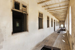 Abandoned quarantine building on Curacao Stock Photos