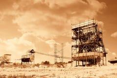 Abandoned quarry Stock Image
