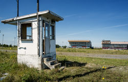 Abandoned racetrack Royalty Free Stock Photography