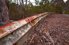 Abandoned Raceway Stock Photo