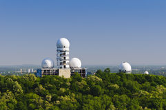 Abandoned radar station berlin Stock Image