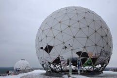 Abandoned Radar Station in Berlin Royalty Free Stock Photos