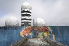 Abandoned Radar Station Teufelsberg Royalty Free Stock Photos